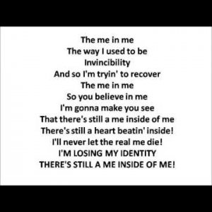 Me In Me - Watt White - Lyrics